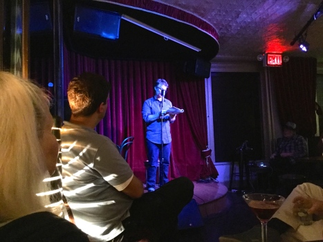 Robert Vaughan reading at KGB NYC 21 Oct '16
