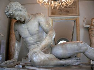 The Dying Gaul, Capitoline Museum, Rome. Photograph (c)2005 Mary Harrsch