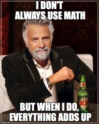 most interesting man math